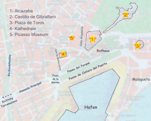 Malaga Altstadt Karte.Maik Online Reisebericht Andalusien Malaga